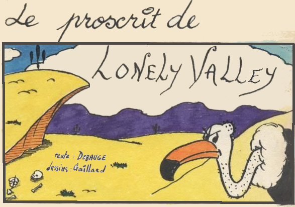 Proscrit de Lonely Valley